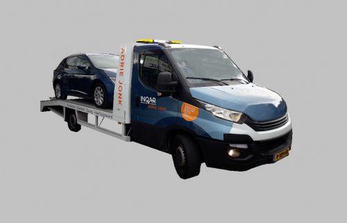 PU4 klasse Iveco Daily Oprijwagen 1
