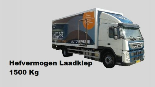 V54K klasse Volvo FM met laadklep 1