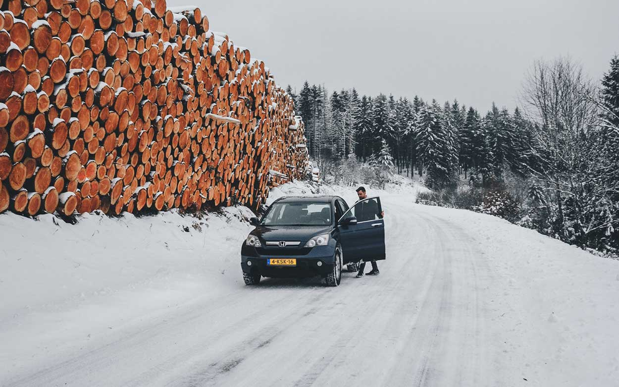 auto huren wintersport