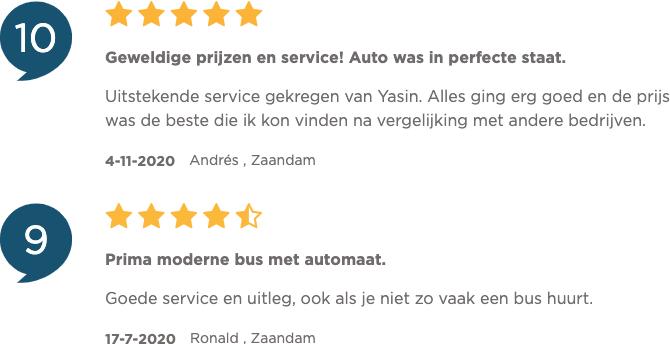 Ervaringen van klanten